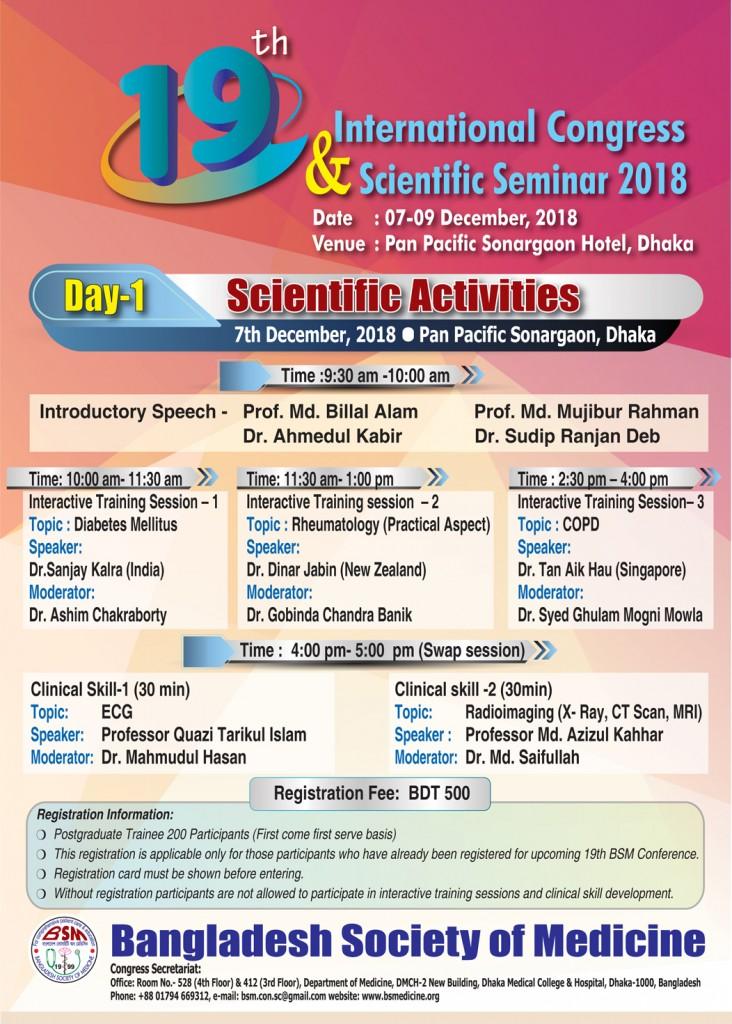 Poster - Scientific Activities
